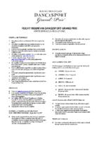 RMDGP Amateur Rules & Regulations