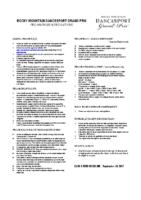 RMDGP Pro Am Rules & Regulations